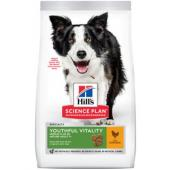 Для пожилых собак (7+) средних пород с курицей и рисом, Youthful Vitality