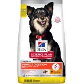 Сухой корм для взрослых собак малых и миниатюрных пород Идеальное пищеварение (Perfect Digestion)