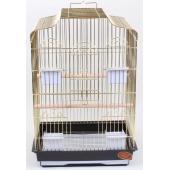Клетка для птиц 48*36*69 см (607G), золотая решетка