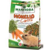 Monello Pellet Carota безглютеновый корм с морковью для кроликов