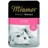 Рагу по-королевски с телятиной, кусочки в желе для кошек, Ragout mit Kalb