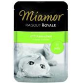 Рагу по-королевски с кроликом, кусочки в желе для кошек, Ragout mit Kaninchen