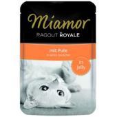 Рагу по-королевски с индейкой, кусочки в желе для кошек, Ragout mit Pute