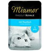 Рагу по-королевски с тунцом, кусочки в желе для кошек, Ragout mit Thunfisch