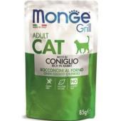 Cat Grill Pouch паучи для взрослых кошек итальянский кролик