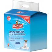 Подстилка-пеленка для кошек и собак Expert Regular, впитывающая, 60*60см, 24 шт.