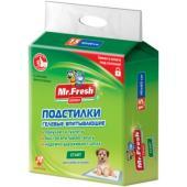 Подстилка-пеленка для кошек и собак Expert Start, впитывающая, 60*60см, 12 шт.