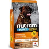 Cухой корм для взрослых собак крупных пород S8 Nutram Sound Large Breed Adult Dog