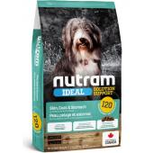 Cухой корм для собак с чувствительным пищеварением, для кожи и шерсти I20 Nutram Ideal Sensitive Dog - Skin, Coat Stomach
