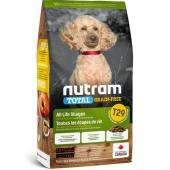 Беззерновой корм для щенков и собак мелких пород ягненок с бобовыми T29 Nutram Total Grain Free Small Breed Lamb and Lentils