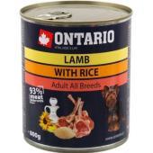 Консервы для собак: ягненок и рис Lamb,Rice,Sunflower Oil