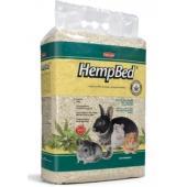Подстилка из пенькового волокна для  мелких домашних животных, кроликов,грызунов HEMP BED (30л)