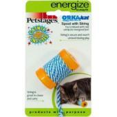 """Игрушка для кошек Energize """"ОРКА катушка с веревочкой"""" 6 см"""