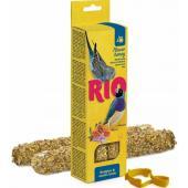 Палочки для волнистых попугайчиков и экзотов с медом  2*40 г