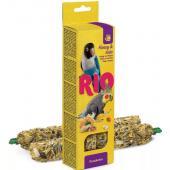 Палочки для средних попугаев с медом и орехами  2*75 г