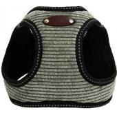 Шлейка для собак вельветовая №1 XXS (обхват груди 18-23см) хаки