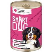 Консервы для взрослых собак и щенков кусочки ягненка в нежном соусе