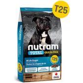 Беззерновой корм для щенков и собак с форелью и лососем T25 Nutram Total Grain Free Salmon and Trout