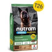 Беззерновой корм для щенков и собак из мяса ягненка с бобовыми T26 Nutram Total Grain Free Lamb and Legumes
