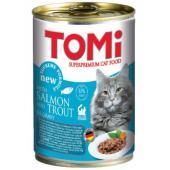 Консервы для кошек лосось и форель