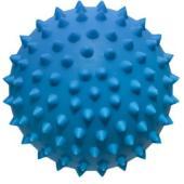"""Игрушка для собак """"Мяч для массажа"""", голубой, 10см"""