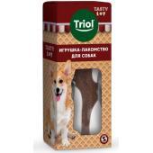 Игрушка-лакомство TASTY TOY для собак «Вкусная косточка» S, 10 см