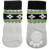 """Носки для собак """"Цветы"""", размер S, 2,5*6см"""