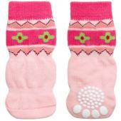 """Носки для собак """"Цветы"""", размер L, 3,5*9см"""