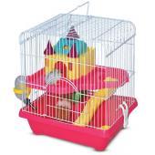 """Клетка """"Замок"""" для грызунов, два этажа, 27,8*20,5*31 см (YD-101)"""