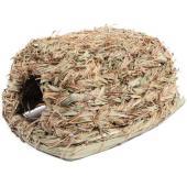 """Домик NATURAL для мелких животных из луговых трав """"Шалашик"""", 27*18*14см"""