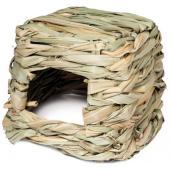 """Домик NATURAL для мелких животных из луговых трав """"Хижина"""", 13*11*11см"""