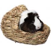 """Домик NATURAL для мелких животных из луговых трав """"Лапоть"""", 25*20*17см"""