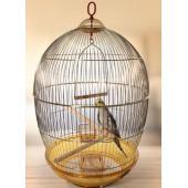 Клетка круглая для птиц, золото, 48*76,5 см (480 G)
