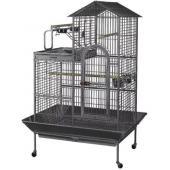 Клетка для птиц, 114*91*160 см, черная (BC17)