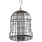 Кормушка для птиц уличная, 820мл/ф20см, черная/бронзовая (55657)