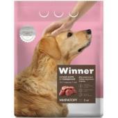 Сухой корм для взрослых собак крупных пород с говядиной