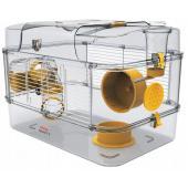 Клетка для грызунов RODY 3 SOLO, 41*27*28см, цвет ярко-желтый