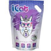 Cиликагелевый наполнитель для кошачьего туалета с ароматом лаванды