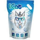Cиликагелевый наполнитель для кошачьего туалета с гранулами SnowFlakes