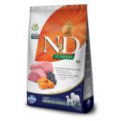 Сухой корм Farmina N&D GF PUMPKIN MEDIUM/MAXI для собак средних и крупных пород с ягненком, черникой и тыквой