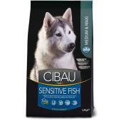 Farmina CIBAU Sensitive Fish Medium & Maxi для собак средних и крупных пород  с чувствительным пищеварением, рыба