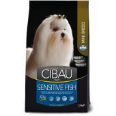 Farmina CIBAU Sensitive Fish Mini для собак малых пород с чувствительным пищеварением, рыба
