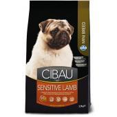 Farmina CIBAU Sensitive Lamb Mini для собак мелких пород  с чувствительным пищеварением, ягненок