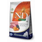 Сухой корм Farmina N&D GF PUMPKIN MEDIUM/MAXI для щенков средних и крупных пород с ягненком, черникой и тыквой