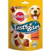 Лакомство для собак ароматные кусочки с говядиной, Tasty Bites