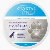 Гулена защитный воск для лап Crystal line