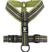 Шлейка Y- Padded Harness размер(обхват груди) 120см, зеленая