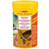 Корм для водных черепах и рептилий гранулы Raffy mineral