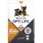 Для щенков с чувствительным пищеварением с лососем и рисом  Puppy Sensitive All Breeds