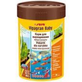 Корм для мальков и рыб мелких видов (гранулы) VIPAGRAN BABY